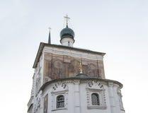 Domkyrka av christ frälsaren i Irkutsk, ryssfederation Arkivfoton