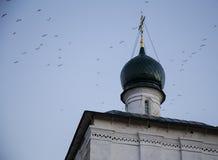 Domkyrka av christ frälsaren i Irkutsk, ryssfederation Fotografering för Bildbyråer