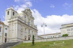 Domkyrka av Coimbra Arkivfoto