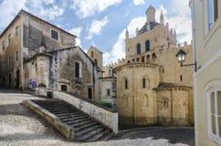 Domkyrka av Coimbra Arkivfoton