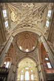 Domkyrka av Cordoba, Andalusia, Spanien arkivfoton