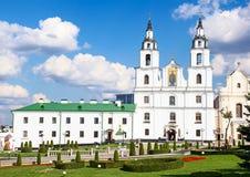 Domkyrka av den heliga anden i Minsk, Vitryssland arkivbilder