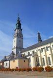Domkyrka av den Jasna Gora kloster. Czestochowa Polen Royaltyfria Bilder