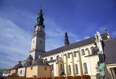 Domkyrka av den Jasna Gora kloster. Czestochowa Polen arkivfoto