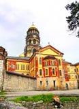 Domkyrka av den ortodoxa kloster Arkivbild