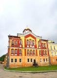 Domkyrka av den ortodoxa kloster Royaltyfria Bilder