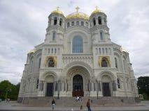 Domkyrka av den ryska ortodoxa kyrkan Arkivfoton