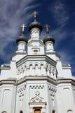 Domkyrka av den Vladimir symbolen av modern av guden i Kronstadt Royaltyfria Foton
