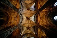 Domkyrka av det heliga korset Arkivfoto