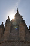 Domkyrka av Evora, Portugal Royaltyfri Bild