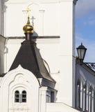 Domkyrka av förklaringen i kremlin, kazan, ryssfederation Fotografering för Bildbyråer