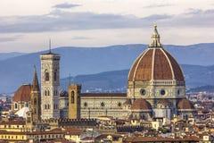 Domkyrka av Florence Arkivbilder