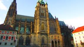 Domkyrka av helgon Vitus Royaltyfria Bilder