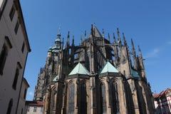 Domkyrka av helgon Vitus, Prague royaltyfri fotografi