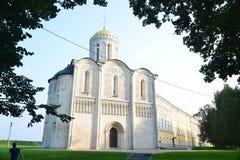 Domkyrka av helgonet Demetrius i Ryssland Royaltyfria Bilder