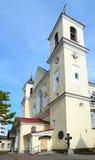 Domkyrka av heliga apostlar Peter och Paul, Minsk, Vitryssland Arkivfoton