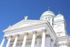 Domkyrka av Helsingfors Fotografering för Bildbyråer