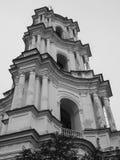 Domkyrka av Kristi födelsen av den välsignade Bogoroditsy- ortodoxa domkyrkan i den Kozelets Chernihiv regionen, Ukraina Arkivbilder