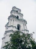 Domkyrka av Kristi födelsen av den välsignade Bogoroditsy- ortodoxa domkyrkan i den Kozelets Chernihiv regionen, Ukraina Arkivfoton