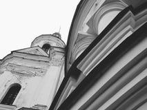 Domkyrka av Kristi födelsen av den välsignade Bogoroditsy- ortodoxa domkyrkan i den Kozelets Chernihiv regionen, Ukraina Fotografering för Bildbyråer