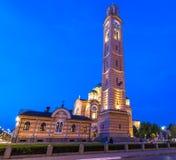 Domkyrka av Kristus frälsaren, Banja Luka royaltyfri bild