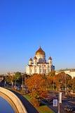 Domkyrka av Kristus frälsaren i Moskva Arkivbild