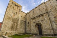 Domkyrka av La Seu de Urgell Royaltyfri Fotografi