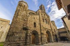 Domkyrka av La Seu de Urgell Royaltyfria Foton