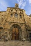 Domkyrka av LaSeu d& x27; Urgell Lleida Arkivbilder