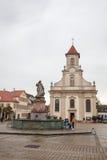Domkyrka av Ludwigsburg Arkivfoton