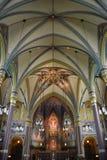 Domkyrka av Madeleinen i Salt Lake City Fotografering för Bildbyråer