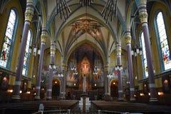 Domkyrka av Madeleinen i Salt Lake City Royaltyfria Bilder