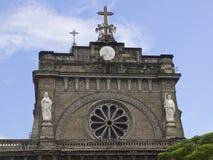 Domkyrka av Manila arkivfoto