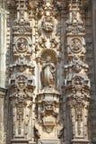 Domkyrka av Mexiko - stad XII Arkivfoto