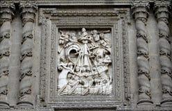 Domkyrka av Mexiko - stad XIX Arkivbilder