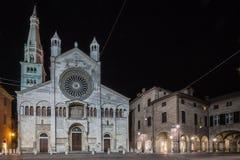 Domkyrka av Modena Royaltyfria Foton