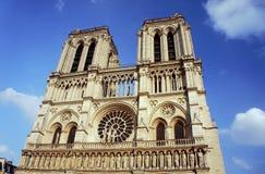 Domkyrka av Notre-Dame de Paris Arkivfoto