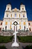 Domkyrka av omgestaltningen av Herren, Kremenets, Ukraina Arkivfoto