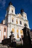 Domkyrka av omgestaltningen av Herren, Kremenets, Ukraina Royaltyfri Foto