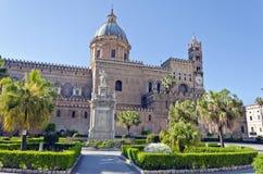 Domkyrka av Palermo Arkivfoton