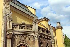 Domkyrka av Peter och Paul i Kamianets-Podilskyi Arkivfoto