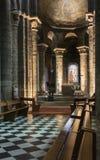 Domkyrka av Poitiers Arkivbild