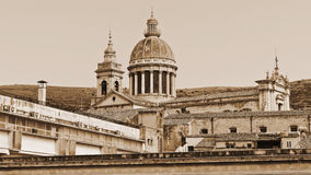 Domkyrka av Ragusa Arkivbilder