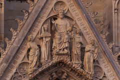 Domkyrka av Reims Royaltyfria Foton