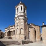 Domkyrka av Roda de Isabena Arkivfoto