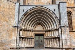 Domkyrka av Sain Mary Entrance arkivfoto