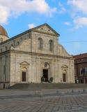 Domkyrka av Saint John det baptistiskt, Torino Italien Fors i Juli 2017 royaltyfria foton
