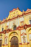 Domkyrka av San Cristobal de Las Casas, Chiapas, Mexico Arkivbilder