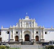 Domkyrka av San Jose i Antigua, Guatemala royaltyfria bilder