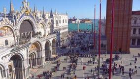 Domkyrka av San Marco, Venedig lager videofilmer
